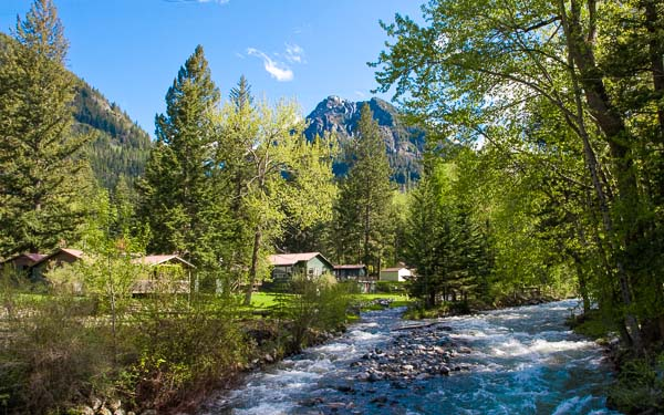 wallowa river lake cabins resort